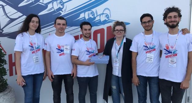 MUFE Robotics Hackathon Ödülü